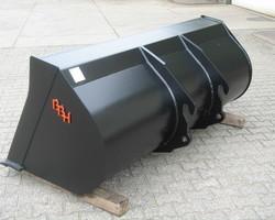 Dichte shovelbak (mestbak / Volumebak) 4/5 ton
